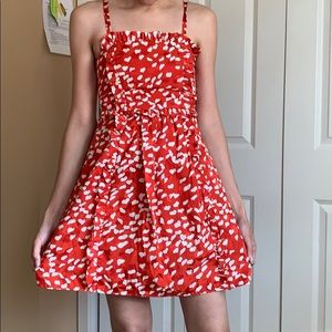 Marc by Marc Jacobs red white heart dress sz 0